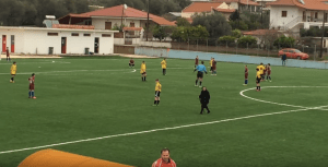 UNBELIEVABLE!!! A GRANDMA WENT INTO THE COURT AND SHE INTERRUPTED A SOCCER MATCH (VIDEO)