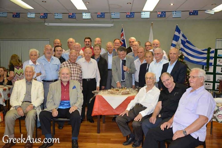 "THE SECTION ""ANATOLI"" (EAST) OF AHEPA WELCOMED THE NEW YEAR"