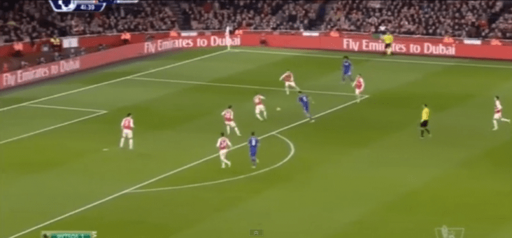 0-1 ARSENAL LOST TO CHELSEA (VIDEO)
