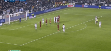 JUVENTUS BEATS ROMA 1-0 (VIDEO)