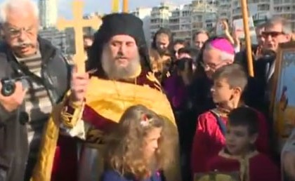 A TOUCHING MOMENT FOR THE HELLENISM! – AFTER 94 YEARS THEY CELEBRATED THE EPIPHANY IN IZMIR!!! (VIDEO)