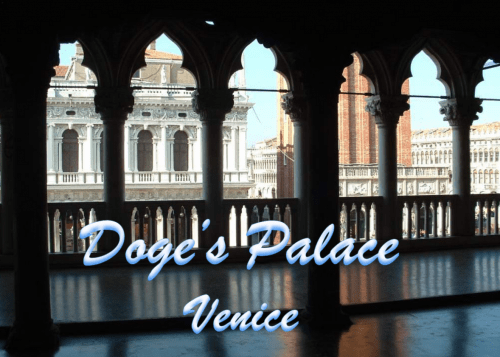 Italy Venice The Dodge's Palace