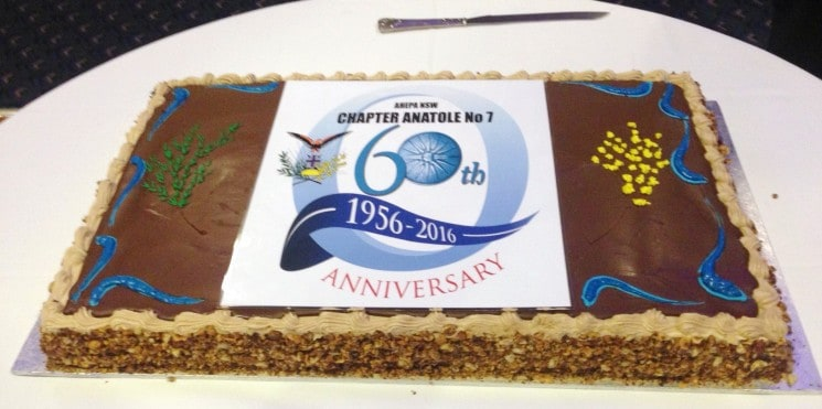 "THE CHAPTER ""ANATOLI"" OF AHEPA CELEBRATED THE 60 YEARS WITH GREAT SUCCESS!!!"