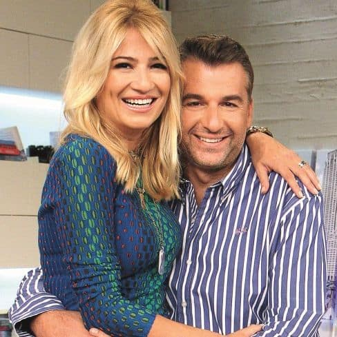 SHOCK IN THE GREEK SHOWBIZ: GIORGOS LIAGAS AND FAY SKORDA BROKE UP!