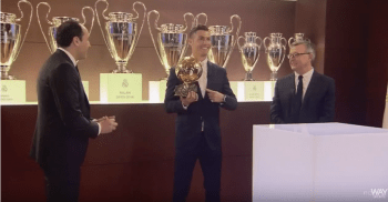 CRISTIANO RONALDO: BEST PLAYER OF THE YEAR