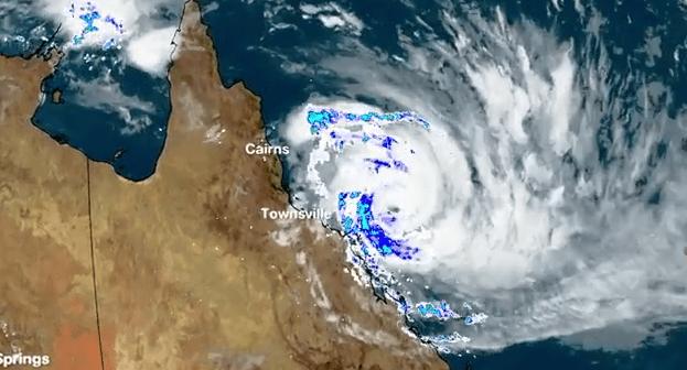Tropical Cyclone Debbie to impact the Queensland Coast