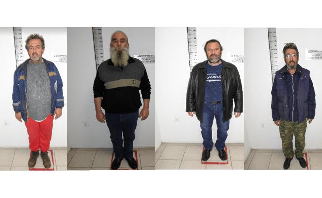 Aυτοι ειναι οι τεσσερις ανδρες που βιαζαν επι 6 χρονια την ανηλικη κορη του ενος