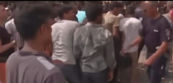 WHAT THE POLICEMAN SAID ABOUT SLAPPING THE IMMIGRANT (VIDEO)