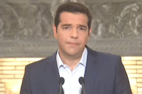 """TSIPRAS ANNOUNCED ELECTIONS IN GREECE: """"PEOPLE WILL JUDGE US"""" –  ON 20th SEPTEMBER THE ELECTIONS"""