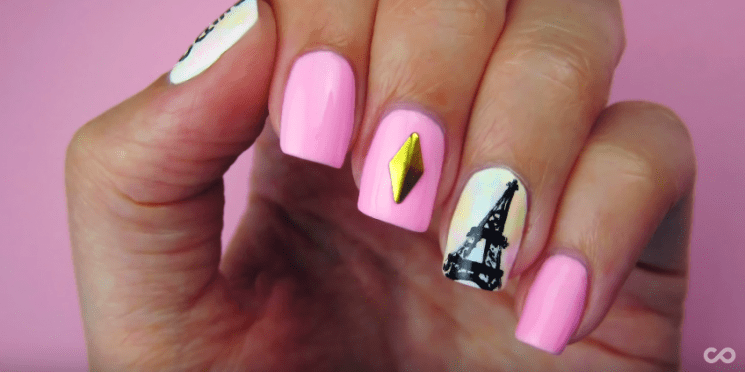 SEE HOW YOU CAN DO PARIS INSPIRED NAILS