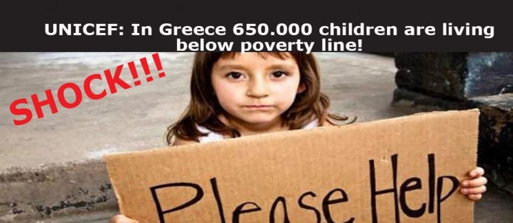 SHAME IN EUROPE THAT IS NOT SENSITIZED FOR THE DEATHS AND THE SUICIDES OF GREEK CHILDREN