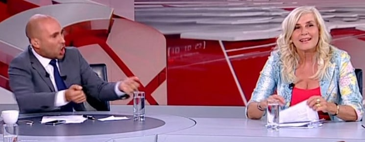 ELECTION IN GREECE WITH SEXUAL HILARIOUS DIALOGUES ON GREEK TV!!!
