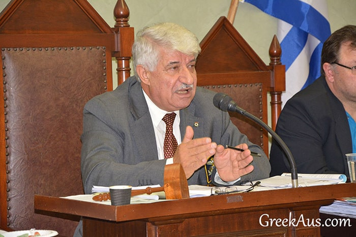 AHEPA CHANGES TO A MORE LEADING ROLE IN THE GREEK COMMUNITY!