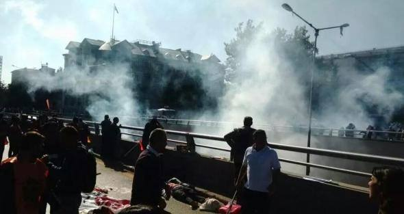 A FEW MOMENTS AGO TWO EXPLOSIONS IN TURKEY CAUSED THE DEATH OF MANY PEOPLE
