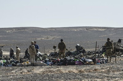 ADDITIONAL INFORMATION ABOUT THE CRASH OF THE RUSSIAN PLANE IN SINAI