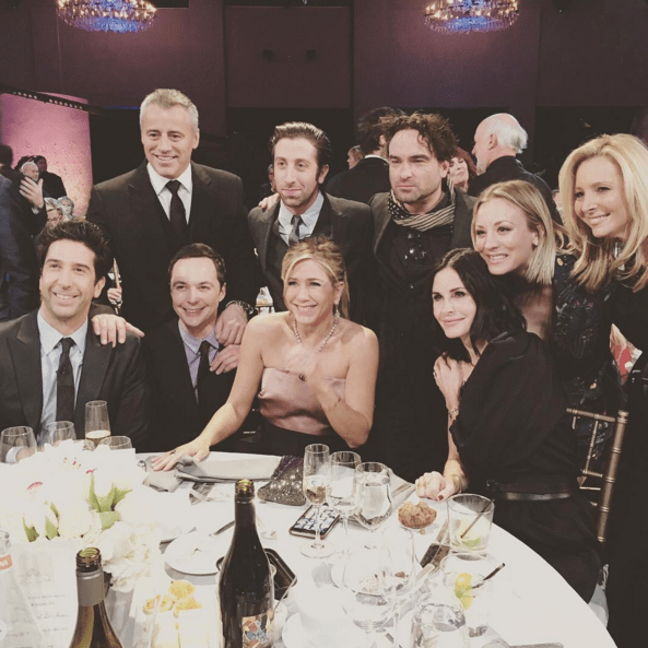"""FRIENDS"" REUNITED TOGETHER WITH ""BIG BANG THEORY"""