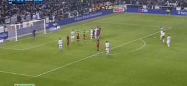 JUVENTUS BEATS ROMA 1-0 (VIDEO)
