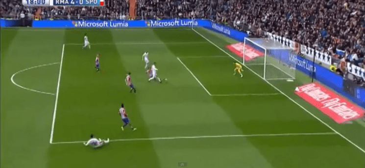 REAL MADRID BEAT SPORTING DE GIJON WITH FIVE GOALS (VIDEO)