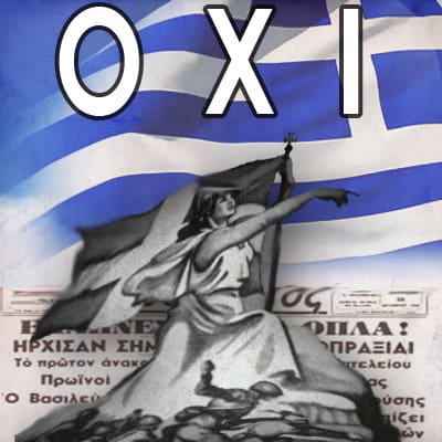"OPEN INVITATION OF AHEPA NSW FOR ""OXI"" DAY"