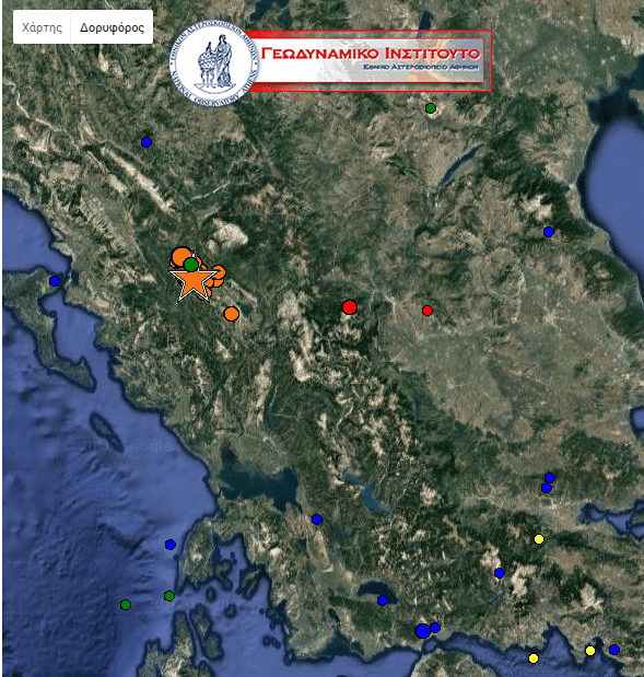 EPIRUS IS A MESS AFTER THE EARTHQUAKES THE LAST 24 HOURS