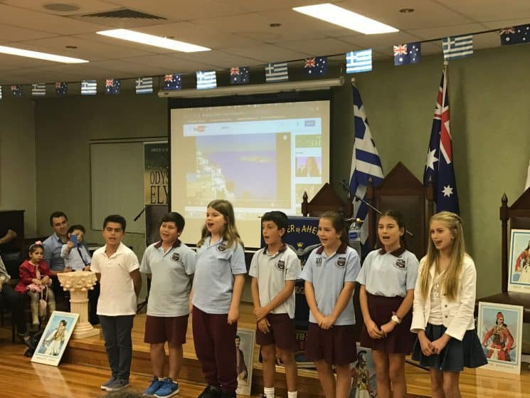 A GREAT CELEBRATION FOR THE 25TH OF MARCH FROM AHEPA NSW