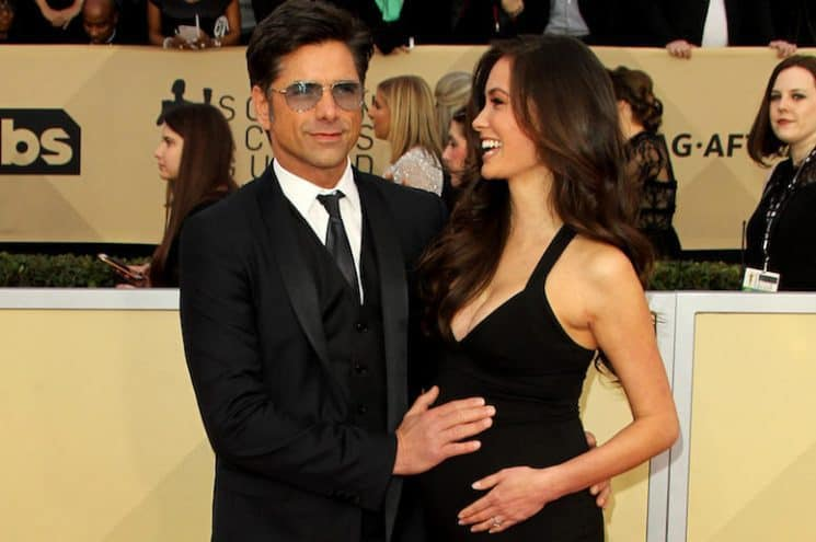 JOHN STAMOS WELCOMES HIS FIRST CHILD
